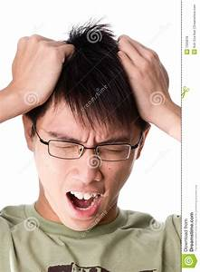 Frustrated Asian Man Royalty Free Stock Photos - Image ...