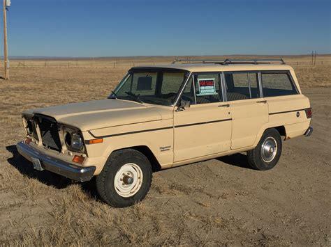 jeep grand wagoneer wyoming roadside find 1979 jeep wagoneer