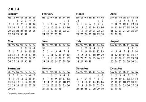 Free Calendar Templates 2014 Canada by 2014 Calendar New 2014 Calendars