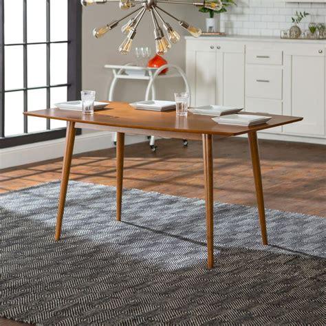 walker edison furniture company mid century acorn dining