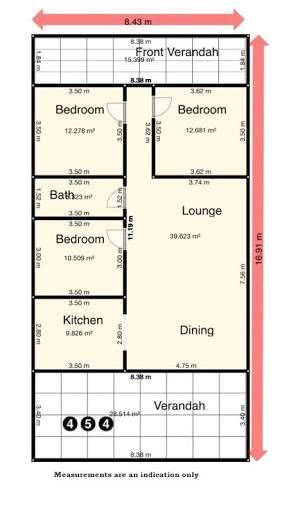 image result  floor plan  queensland workers cottage