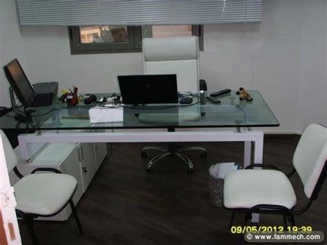 bonnes affaires tunisie maison meubles d 233 coration av meuble bureau moderne en blanc 3