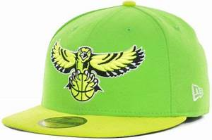 New Era Atlanta Hawks Hardwood Classics Custom Collection