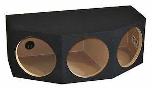 "Triple 12"" Sealed Subwoofer Box Sub Enclosure 12 Inch, 1 ..."