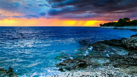 Hd Anime Landscape Wallpaper Adriatic Sea Croatia Wallpaper Wallpaper Studio 10 Tens Of Thousands Hd And Ultrahd