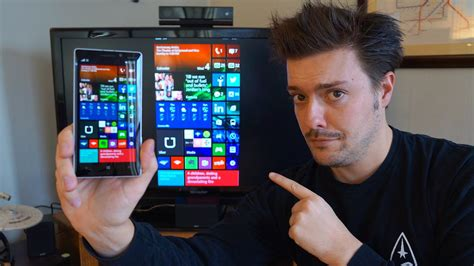 how to on tv from phone windows phone on a tv how to use the microsoft hd 10