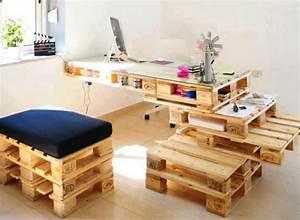 Möbel Aus Holzpaletten : m bel aus holzpaletten selber basteln ~ Michelbontemps.com Haus und Dekorationen