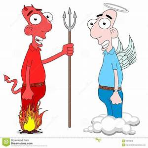 Devil And Angel Stock Images - Image: 19910914