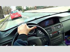 BMW M3 E92 DRIVER Perspective DRIVE in the City
