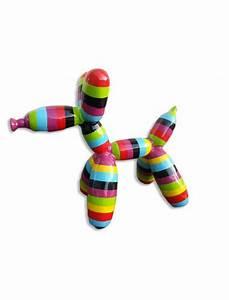 Chien Ballon Deco : chien ballon taille xl multicolore infinytoon objets d co statues jardin concept ~ Teatrodelosmanantiales.com Idées de Décoration