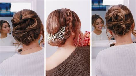 3 Easy Updos for Short/Medium Length Hair Ashley