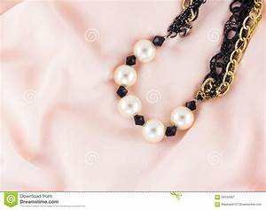 Pearl Necklace Stock Photo - Image: 56432697