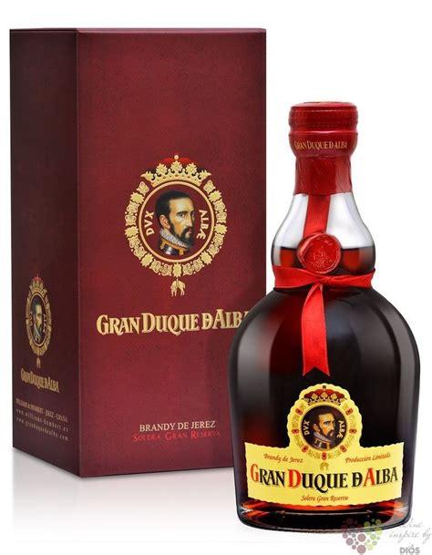 gran duque de alba oro solera grand reserva de jerez do 40 vol 0 70 l španělsko