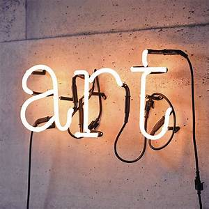 neon letter light by letteroom notonthehighstreetcom With neon light up letters