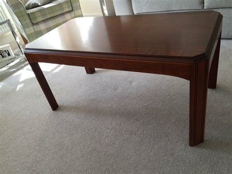 ✅ browse our daily deals for even more savings! Rectangular coffee table in dark wood in very good condition   in Culcheth, Cheshire   Gumtree