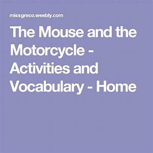 Best 35 Mouse and the motorcycle images on Pinterest ...
