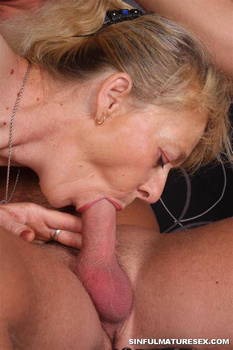 Granny Swallows Cum 2721