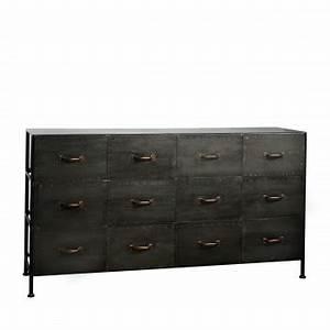 Commode 12 Tiroirs : meuble de rangement design meubles scandinave et vintage drawer drawer ~ Teatrodelosmanantiales.com Idées de Décoration