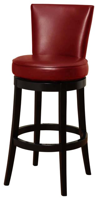 boston swivel barstool in bicast leather 26 quot seat