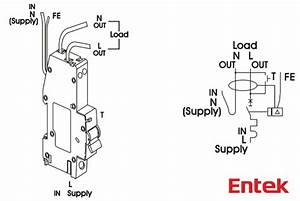 Entek Electric   Rcbo Wiring Diagram  Entekelectric Com