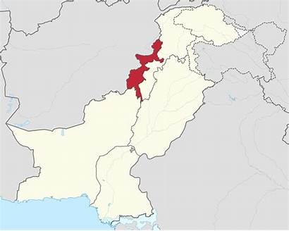 Pakistan Tribal Areas Administered Svg Federally Wikimedia