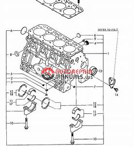 Yanmar Engine 4tnc88l-rb B50-2 Parts Catalog