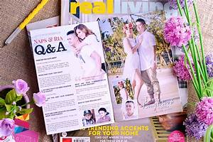 ria naps magazine style wedding invitation stunro With wedding invitations magazines free