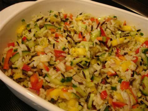 salade de riz sauvage 224 la mangue all 233 g 233 v 233 g 233 talien la cuisine sans lactose