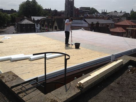 Flat Roof : Fibreglass Flat Roofs And Grp Roofing Services In Norfolk