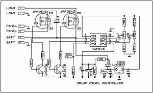 solar charge controller circuit diagram ireleast With charge controller circuit diagram on solar charge controller schematic
