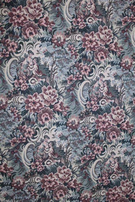 yds romantic floral tapestry upholstery fabric