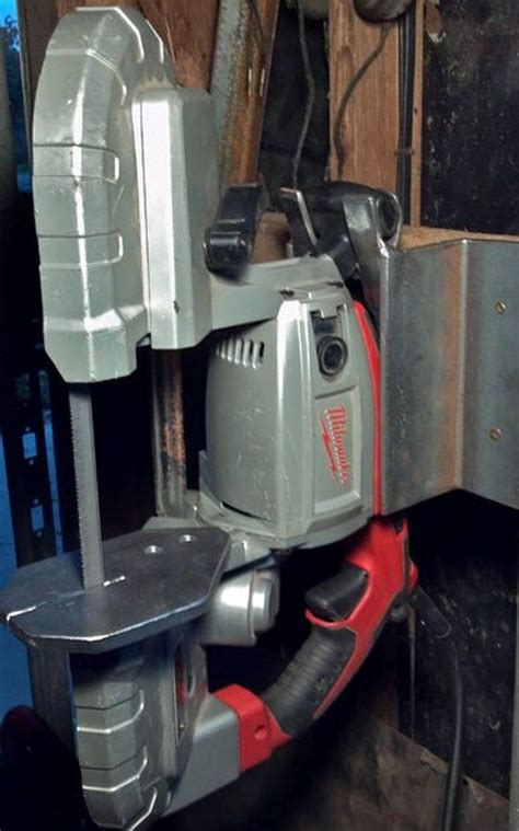 nifty vertical table  stand   portable bandsaw