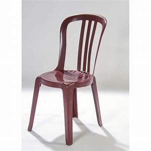 Chaise En Resine : chaise bordeaux en r sine ~ Teatrodelosmanantiales.com Idées de Décoration