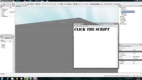 [roblox Tutorial] How To Add Admin Command Script 2014