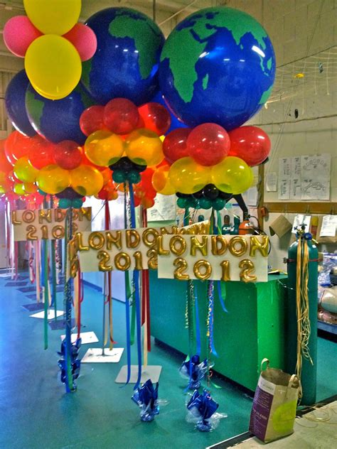 olympic balloon balloon bouquets   party