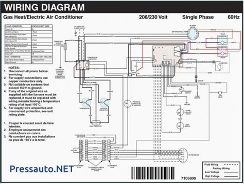 goodman heat strip wiring diagram