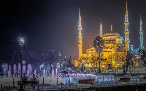 Blue Mosque Wallpaper by Blue Mosque Istanbul Turkey Photography Ultra Hd