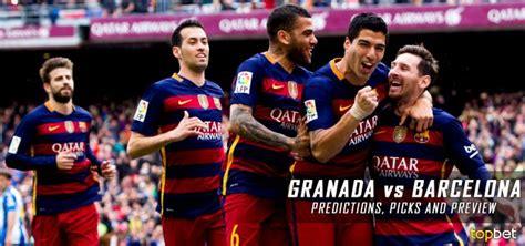 granada  barcelona predictions picks  odds