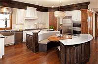 interesting circle kitchen plan Pull Up a Seat: Kitchen Islands - Melton Design Build