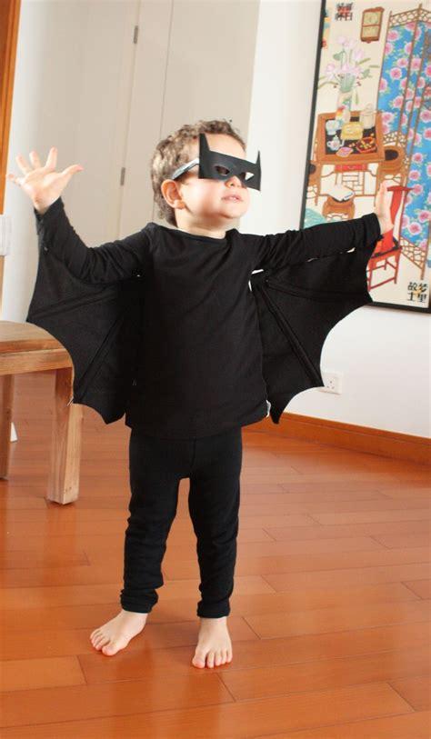 DIY Bat Halloween Costume