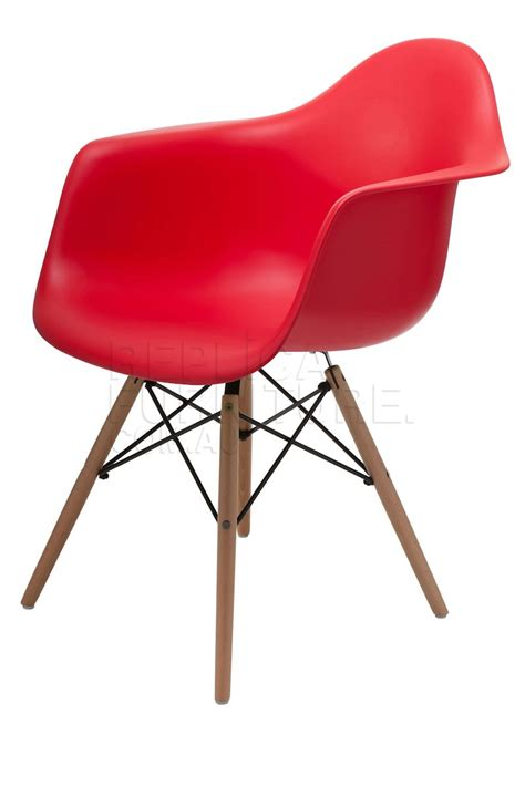 replica charles eames dining arm chair wood legs