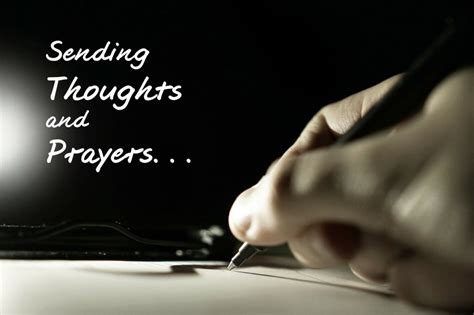 You're in My Thoughts & Prayers - Hospice Matters
