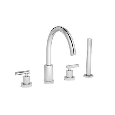 symmons faucets home depot symmons sereno 2 handle deck mount tub faucet with
