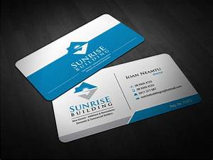 76 professional building business card designs for a for Build business cards