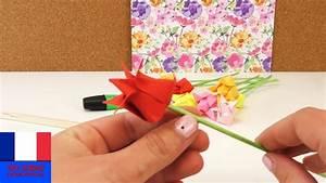 Fleur En Origami Facile : origami tulipe diy fleurs en papier d co rapide et ~ Farleysfitness.com Idées de Décoration