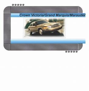 Ford Crown Victoria  Mercury Grand Marquis 2000 Factory