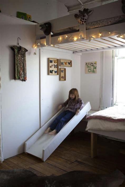 die besten  rutsche kinderzimmer ideen auf pinterest spielzimmer rutsche hochbett kind mit