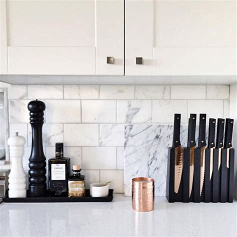 Kitchen Accessories Black And White by Design Details There S Just Something About The Marble