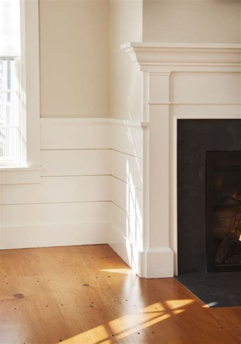 Shiplap Wainscoting by Paint Colors Wainscot Detail Wood Floor Mendenhall