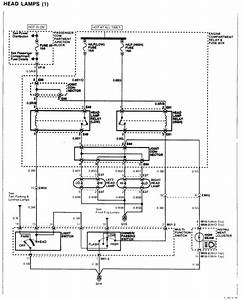 Is There A Way To Get A Wiring Diagram For The Headlight And Foglight Circuits On A 2003 Hyundai